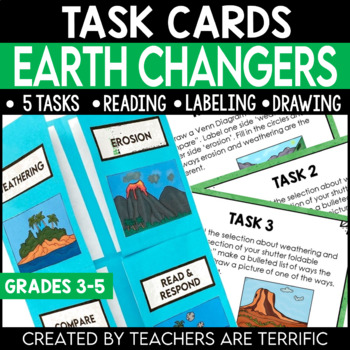 Earth Changers Task Cards