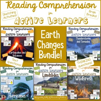 Earth Changes Bundle for Active Readers