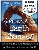 Earth Changes Fast and Slow