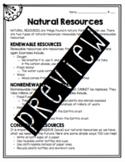 Earth Changes Worksheet Bundle