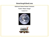 """Grades 8 - 12 """"Earth's Climate Change"""" for Gifted and Talented Students"""