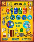 Earth Day Clip Art Spring Value Bundle by Charlotte's Clips