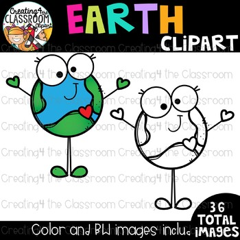 Earth Clipart {Earth Day Clipart}