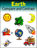 Compare and Contrast Earth (Print + Digital Activity)