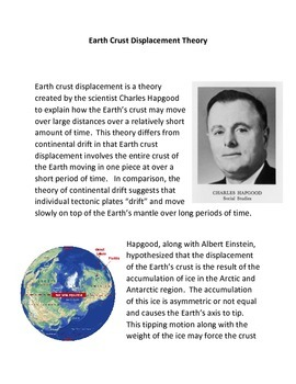 Earth Crust Displacement Theory