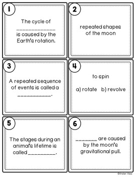 Earth Cycles SCOOT Game