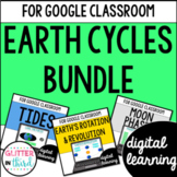 Earth Cycles for Google Classroom Digital Bundle