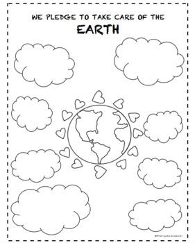 Earth Day! (B&W)