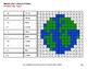 Earth Day: 1-digit Multiplication - Color-By-Number Mystery Pictures