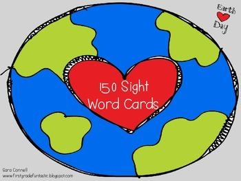 Earth Day:  150 Sight Word Flashcards