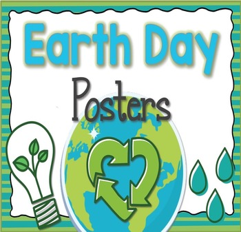 FREE Earth Day Posters