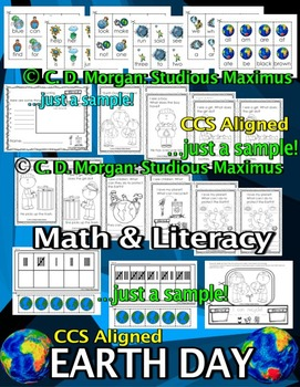 Earth Day - Literacy and Math Interactive Activities