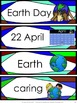 Earth Day Activities: Earth Day Math and Language Worksheets