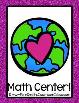Earth Day Math A Quick and Easy to Prep Multiply By Two Center Game