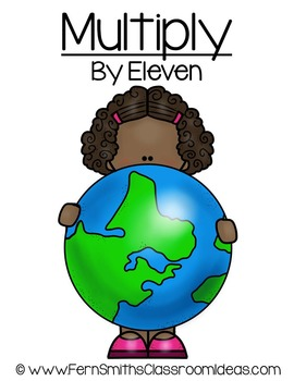 Earth Day Math A Quick and Easy to Prep Multiply By Eleven