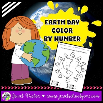 Earth Day Activities (Earth Day Color By Number)