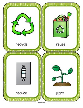 Earth Day 20 Talking Point Flashcards Environment Vocabulary