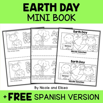 Earth Day Book Activity