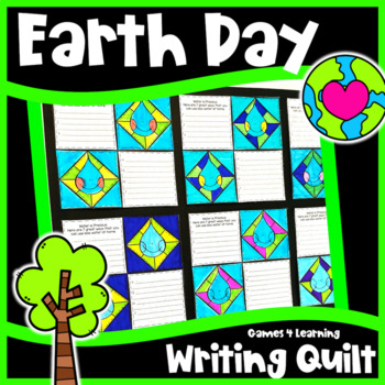 Earth Day Activity: Earth Day Writing Prompts Quilt