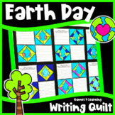 Earth Day Writing Prompts Quilt: Reduce, Reuse, Recycle and More