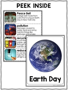 Nonfiction Unit - Earth Day Activities