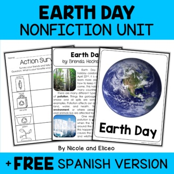 Nonfiction Earth Day Unit Activities