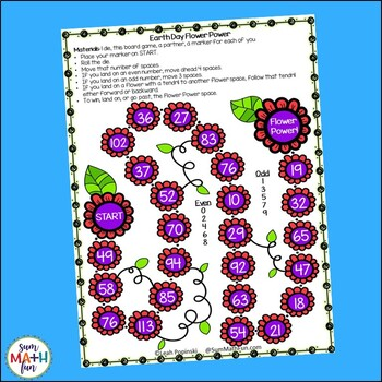 Earth Day Games and Activities First Second Grades