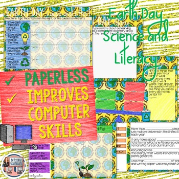 Earth Day Digital Interactive Notebook