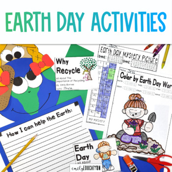 Earth Day Activities | Crafts, Reading and Writing