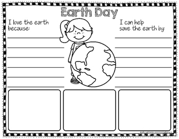 Earth Day Writing