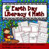 Earth Day Activities : Literacy and Math