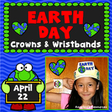 Earth Day Activities : Crowns and Wristbands - Earth Day Craft