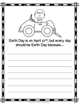Earth Day Activities: Grades K-2