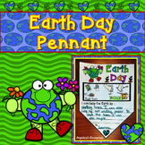 Earth Day Activities : Earth Day Summary Pennants - Writin