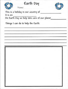 Mark Your Calendar - Earth Day