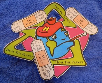 Earth Day Writing Activity: Earth Day Heal the Planet Spring Craft Activity