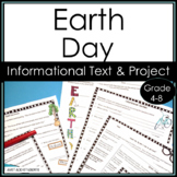 Earth Day Nonfiction Information Reading