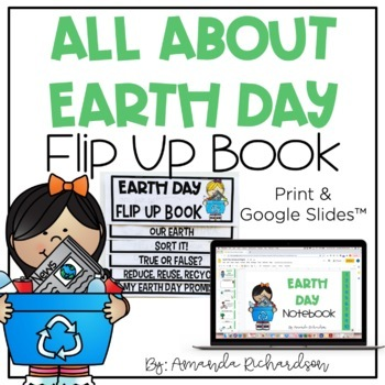 Earth Day Flip Up Book