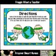 """Earth Day--2D Shapes Clip Cards """"Save the Earth"""""""
