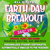 Earth Day Digital Escape Room/Breakout,  360° VR -NO GOOGL