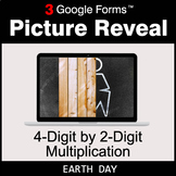 Earth Day: 4-Digit by 2-Digit Multiplication - Google Form