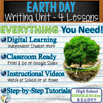 Earth Day Writing BUNDLE! - Argumentative, Persuasive, Exp