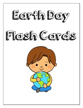 Earth Day Flash Cards