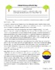 Earth Day History Informational Texts Activities Grade 8, 9, 10, 11