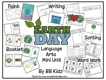 Earth Day  - A mini Language Arts Unit