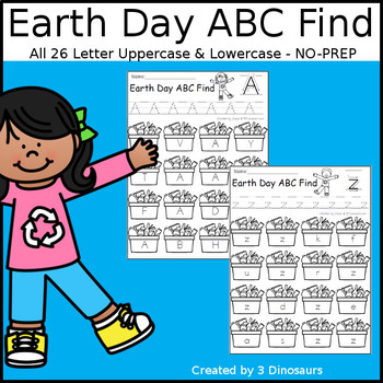 Earth Day ABC Letter Find