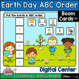 Earth Day ABC Order  Center - Boom Cards - Digital Distanc