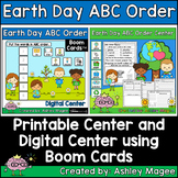 Earth Day ABC Order Center - Printable and Digital or Dist