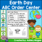 Earth Day ABC Order Center/Station with differentiation options