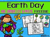 Earth Day ABC Order Cut and Paste Printable---FREEBIE